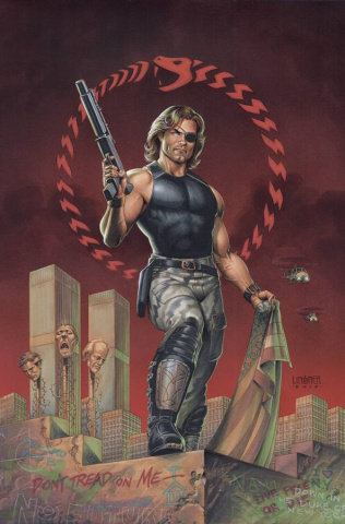 Escape From New York #5 (25 Copy Linsner Cover)