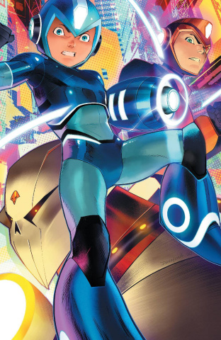 Mega Man: Fully Charged #4 (Mora Cover)
