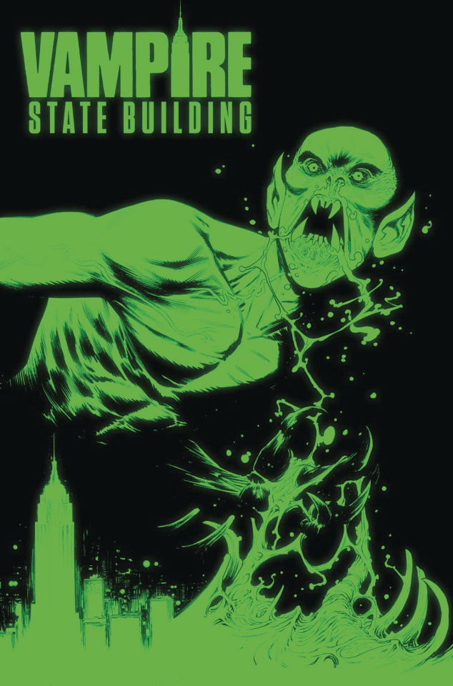 Vampire State Building #4 (10 Copy Glow In Dark Cover)