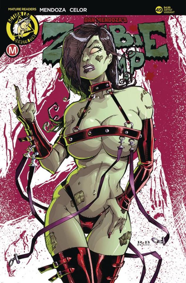 Zombie Tramp #49 (White Cover)