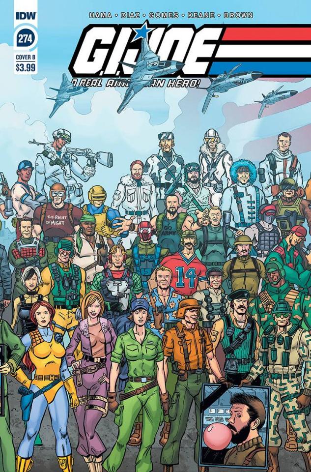 G.I. Joe: A Real American Hero #274 (Sullivan Cover)