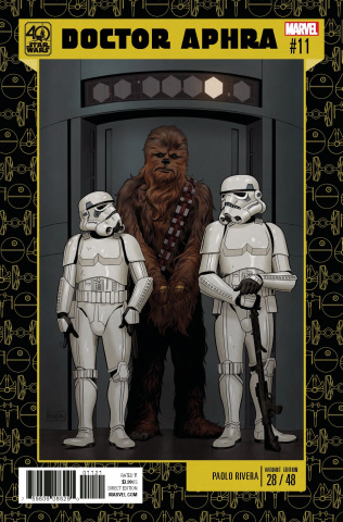Star Wars: Doctor Aphra #11 (Rivera Star Wars 40th Anniversary Cover)