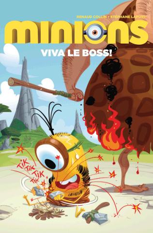 Minions: Viva Le Boss! #1 (Collin Cover)