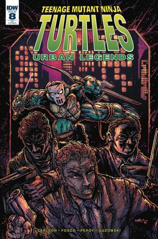 Teenage Mutant Ninja Turtles: Urban Legends #8 (10 Copy Eastman Cover)