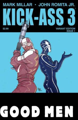 Kick-Ass 3 #1 (Ferry Cover)