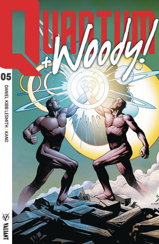 Quantum & Woody #5 (20 Copy Ultra Foil Chase Cover)