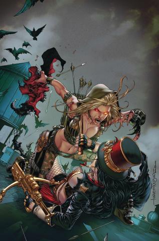 Van Helsing vs. Robyn Hood #2 (Tolibao Cover)