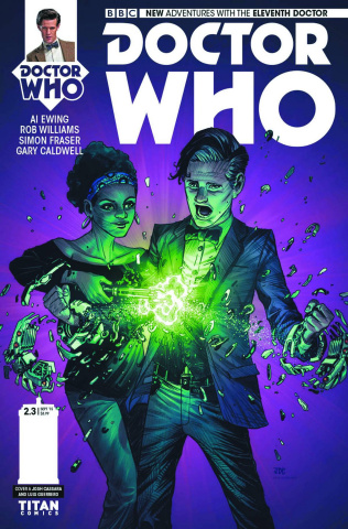 Doctor Who: New Adventures with the Eleventh Doctor, Year Two #3 (Cassara Cover)