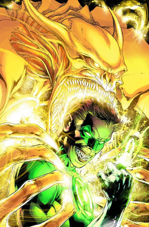 Green Lantern #35 (Monsters Cover)