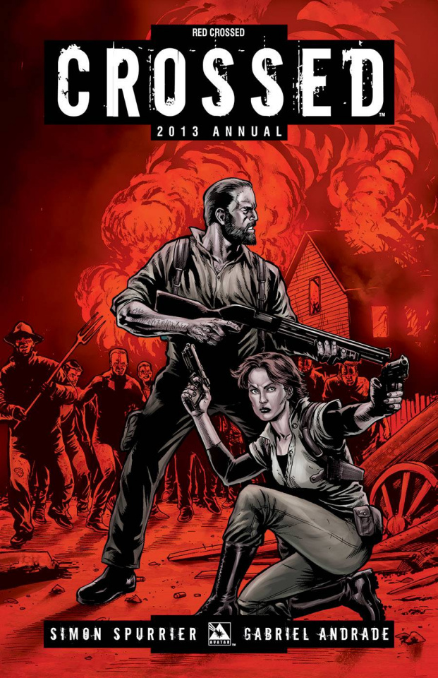 Crossed Annual 2013 (Red Crossed Cover)