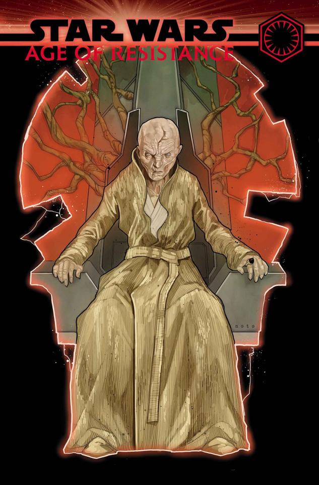 Star Wars: Age of Resistance - Supreme Leader Snoke #1