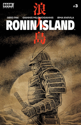 Ronin Island #3 (Young Cover)