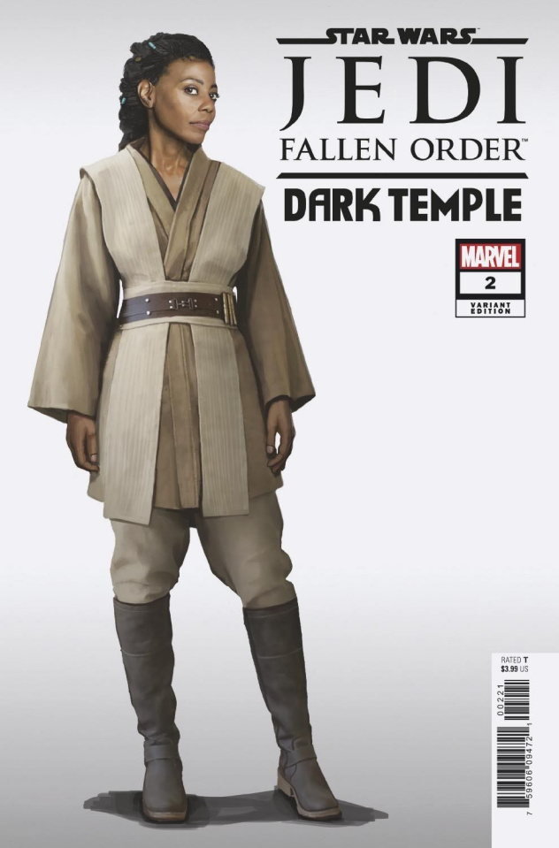 Star Wars: Jedi - Fallen Order, Dark Temple #2 (Game Cover)