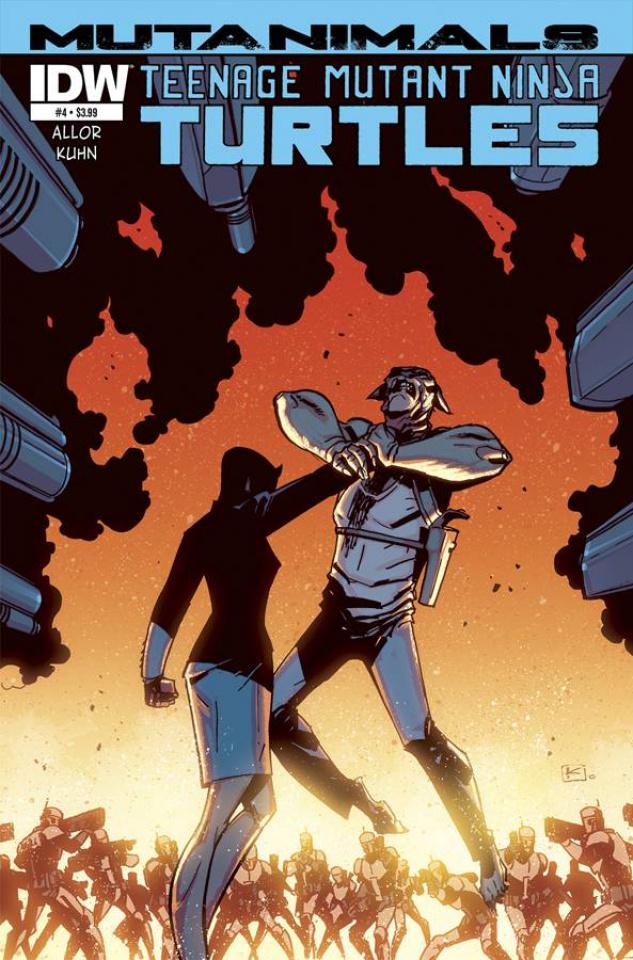 Teenage Mutant Ninja Turtles: Mutanimals #4