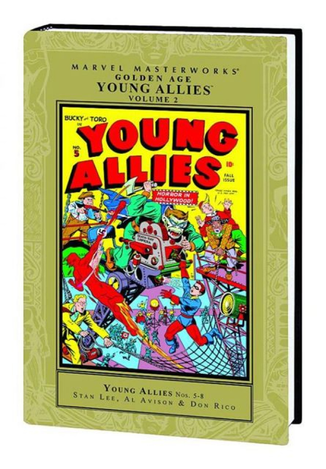 Golden Age Young Allies Vol. 2 (Marvel Masterworks)