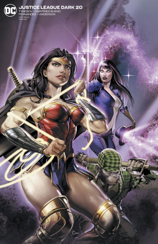 Justice League Dark #20 (Clayton Crain Cover)