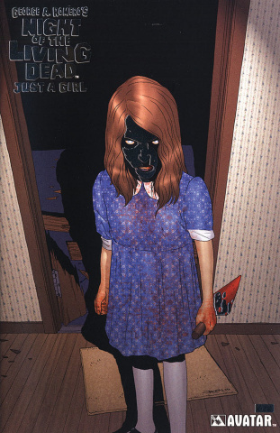 Night of the Living Dead: Just A Girl #1 (Platinum Foil Cover)