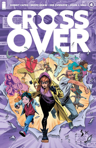 Crossover #4 (2nd Printing)