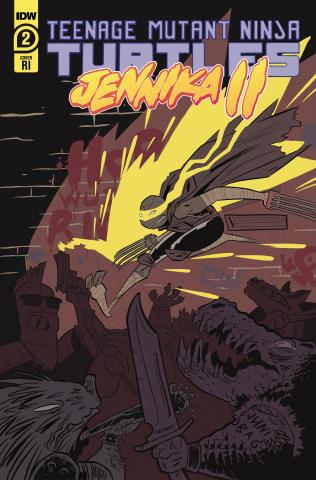 Teenage Mutant Ninja Turtles: Jennika II #2 (10 Copy Juni Ba Cover)