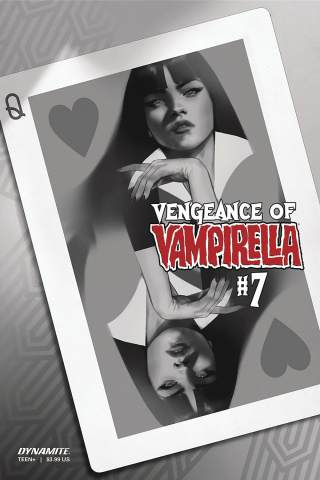 Vengeance of Vampirella #7 (30 Copy Oliver B&W Cover)