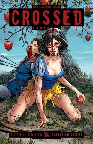 Crossed: Badlands #53 (Fatal Fantasy Cover)