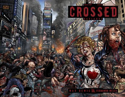 Crossed: Badlands #88 (Wrap Cover)