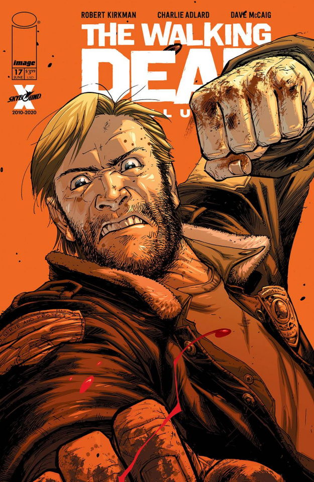 The Walking Dead Deluxe #17 (Moore & McCaig Cover)
