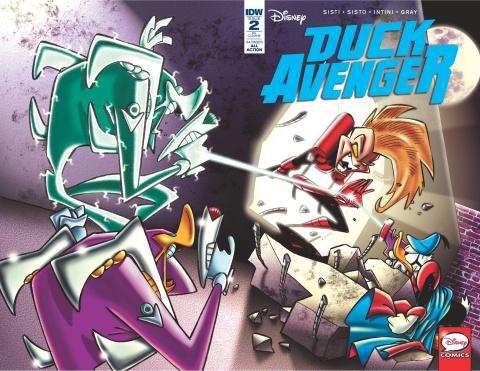 Duck Avenger #2 (10 Copy Cover)