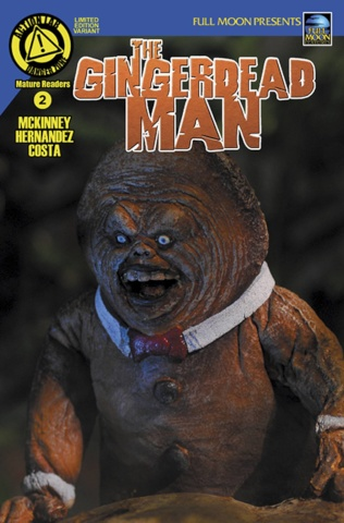 The Gingerdead Man #2 (Photo Cover)