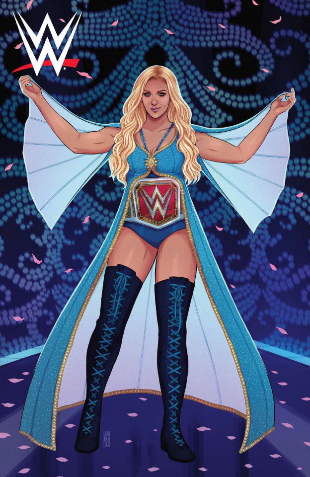 WWE #8 (15 Copy Bartel Cover)