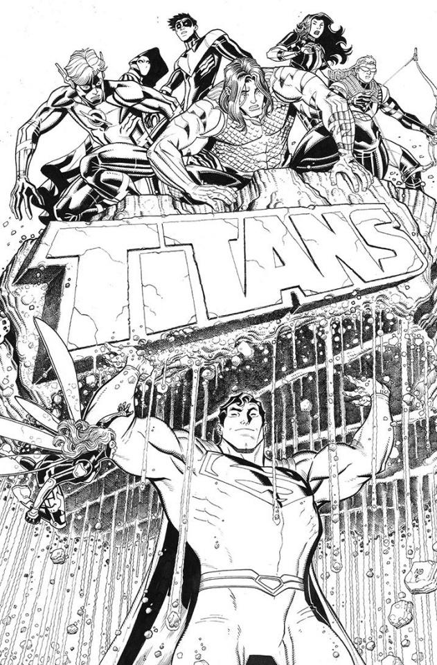 Titans #22 (Variant Cover)