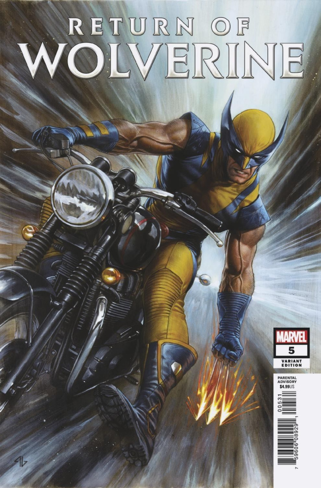 Return of Wolverine #5 (Granov Cover)