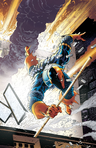 Deathstroke: The Terminator Vol. 4: Crash or Burn