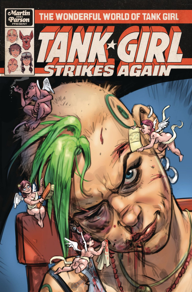 The Wonderful World of Tank Girl #1 (Wahl Cover)