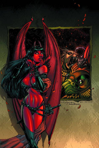 Purgatori #2 (Rare Chin Virgin Art Cover)