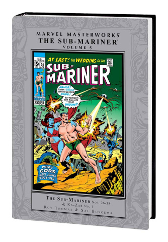 The Sub-Mariner Vol. 5 (Marvel Masterworks)