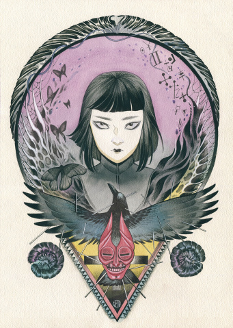Blackwood: The Mourning After #3 (Momoko Cover)