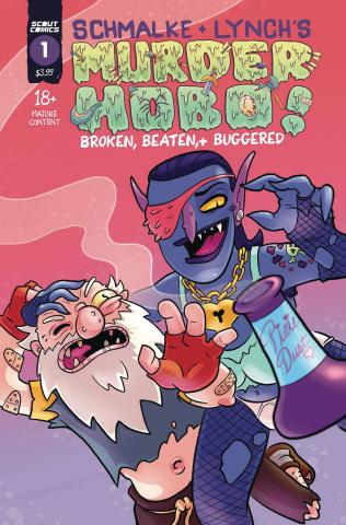 Murder Hobo! Beaten, Broken & Buggered #1 (2nd Printing)