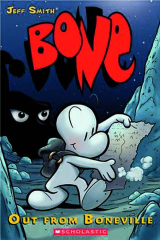 Bone: Color Edition Vol. 1: Out From Boneville
