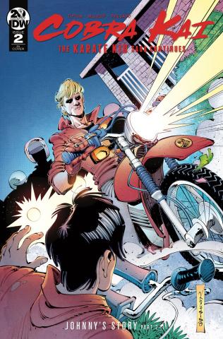 Cobra Kai: The Karate Kid Saga Continues #2 (10 Copy Cover)