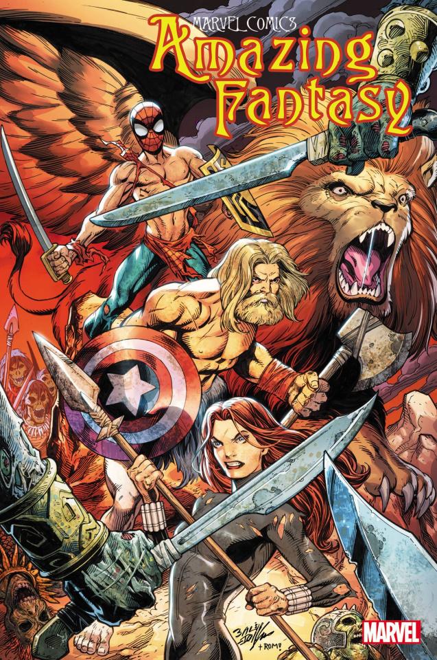 Amazing Fantasy #4 (Bagley Cover)
