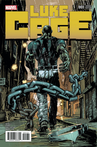 Luke Cage #1 (Adams Cover)