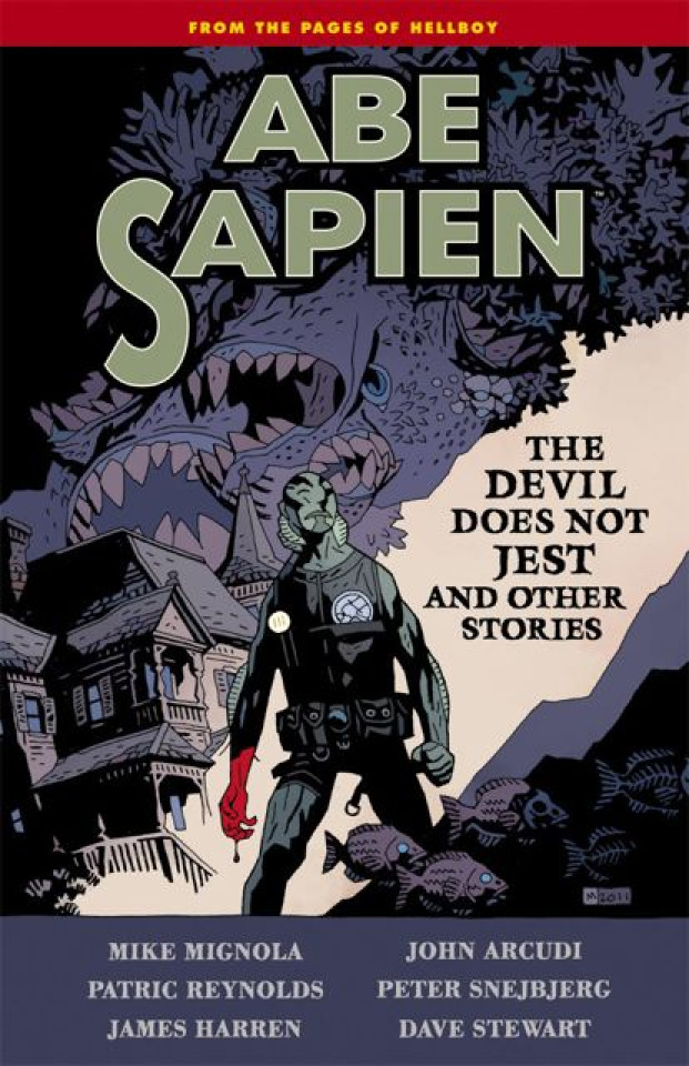 Abe Sapien Vol. 2: The Devil Does Not Jest and Other Stories