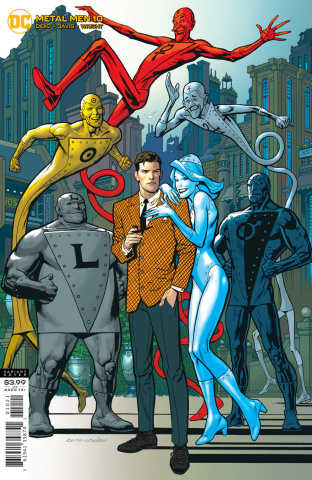 Metal Men #10 (Kevin Nowlan Cover)