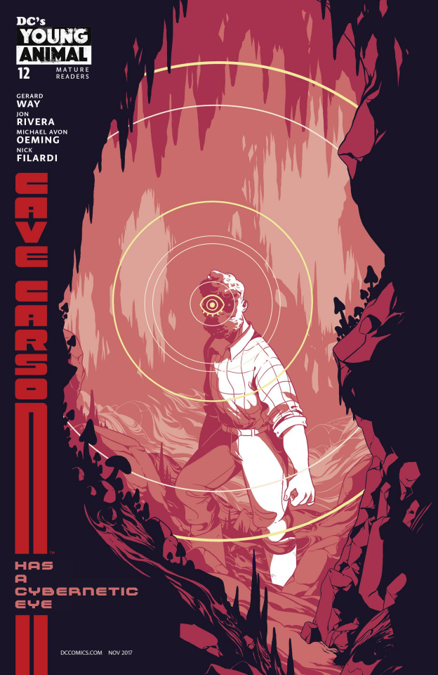 Cave Carson Has a Cybernetic Eye #12 (Variant Cover)