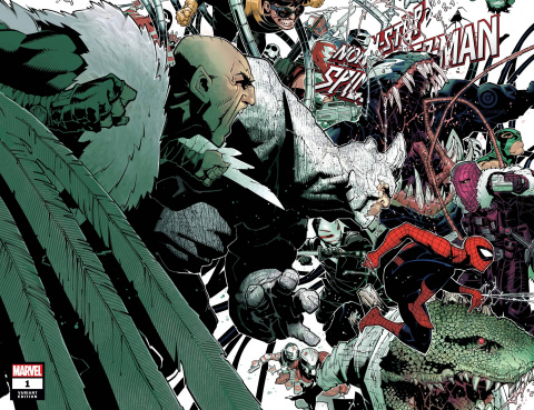Non-Stop Spider-Man #1 (Bachalo Wraparound Cover)