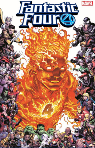 Fantastic Four #13 (Bradshaw Marvel 80th Anniversary Frame Cover)