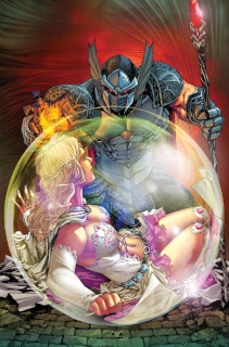 Grimm Fairy Tales: The Warlord of Oz #1 (Caldwell Cover)