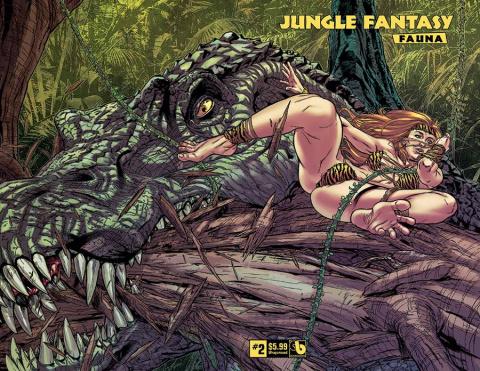 Jungle Fantasy: Fauna #2 (Wrap Cover)