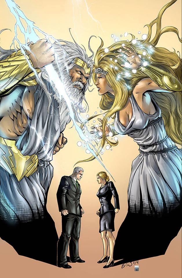 Grimm Fairy Tales: Godstorm - Hercules Payne #5 (Eric J Cover)